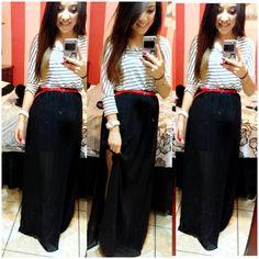 boohoo #Skirt #Anna #Jersey #Fishtail #Maxi #Skirt Anna Jersey ...