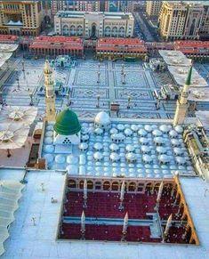Al Masjid An Nabawi, Mecca Masjid, Masjid Al Haram, Islamic Images, Islamic Pictures, Islamic Art, Islamic Quotes, Muslim Pray, Islam Muslim