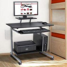 Computer Desk Cart PC Laptop Table Study Portable Workstation Student Dorm Home Office - Walmart.com