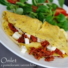 omlet z pomidorami i serem feta (2)