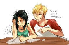 Percy and Annabeth<---- GENDERBEND
