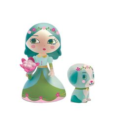 Djeco prinsessefigur, samleobjekt - Luna og Blue - Køb her   LirumLarumLeg