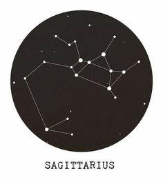 Sagittarius Star Constellation Art Print, Minimalist wall art, monochrome art print, black & white w Sagittarius Constellation Tattoo, Constellation Tattoos, Sagittarius Art, Constellation Drawing, Sagittarius Tattoo Designs, Taurus Tattoos, Bild Tattoos, Inspiration Tattoos, Tattoo Ideas