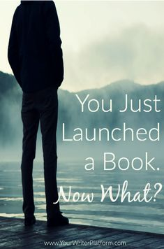 """We dive into the murky waters of the """"post-launch"""" phase of your book launch plan, clarifying what you can do to keep the momentum rolling. Writing Quotes, Writing Advice, Writing Resources, Writing Help, Writing A Book, Writing Ideas, Writing Studio, Fiction Writing, Writing Prompts"""