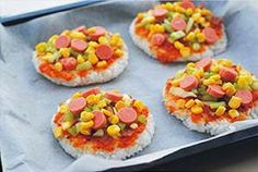 Boiled Rice Pizza - Cơm Pizza