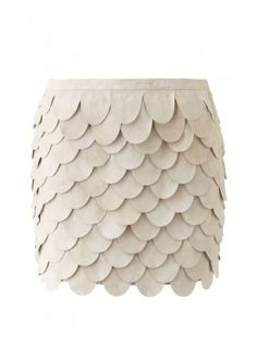 Sass & Bide Suede Mini Skirt