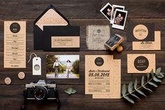 My Dear Paper - Wedding Krafty collection - Photo by Cyrielle Mothas http://www.carnetsparisiens.com/2015/03/09/stylisme-my-dear-paper/