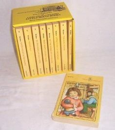 The Complete Little House Nine-Book Set: Laura Ingalls Wilder, Garth Williams: 9780064400404: Amazon.com: Books...I still have these...and have been known to re-read them from time to time.