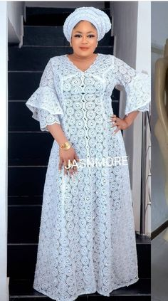 Long African Dresses, African Wear, African Attire, African Fashion Dresses, African Braids Hairstyles, Braided Hairstyles, All White, Flora, Natural Hair Styles