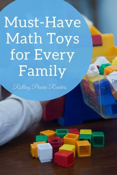 7 Must-Have Math Toys for Every Family   child development, learning through play, preschool math, toddler math, educational toys, preschool toys