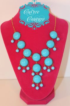 J. Crew Inspired Acrylic Bubble Necklace! Wayyyy cheaper than all the other knock-offs! Only $20.00! Whoop :)