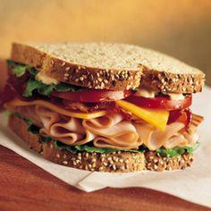 Tyson Food Service: Recipes: Santa Fe Turkey Tyson Foods, Oven Roasted Turkey, Roast Turkey Breast, Turkey Sandwiches, Family Meals, Family Recipes, Food Service, Sandwich Recipes, Deli
