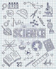Drawings for science Binder Covers, Notebook Covers, Lettering Brush, Science Doodles, Diy Back To School, School Notebooks, Sketch Notes, School Notes, School Supplies