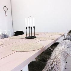 Ihanaa perjantaita ❤️ työviikonloppu edessä 😝😁 #skandinaavinen #keittiö #lampaantalja #vaalea #puupöytä #lankkupöytä #harmaata #mustaa #valkoista #parhaat #värit