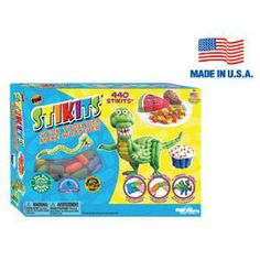 Stikits® 440pc. Set - 440 Stikits® to stick together and make whatever. kids, play