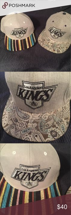 Limited Edition adjustable LA Kings hats Take advantage of bundle discount! Gently used, adjustable hat mitchell and Ness Other