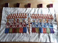 Wandteppich mit Motiv Von der Trossinger Leider ________________ Tapestry motif from the Trossinger Here