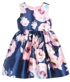 Beautiful Frais Floral Party Dress to dress your baby girl with to get that gorgeous spring feeling with the colorful flowers #affiliate #springtime #floraldress