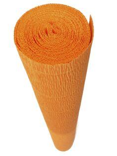 Italian Crepe Paper roll 180 gram - 581 CLEMENTINE