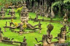 Buddha Park (Xieng Khuan) in Vientiane, Laos