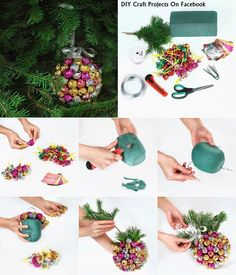 DIY Lollipop Christmas Ornament Christmas Decorations DIY Christmas Handmade Christmas Decorations