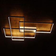 Modern LED Ceiling Light Flush Mount Wall Light Alumilium Painting with Remoter Dimmer for Living Room Bed Room 2017 - $267.19