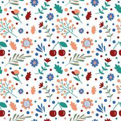flowers pattern illustration print pattern цветы паттерн иллюстрация принт рисунок