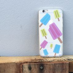 Clear TPU Case Cover - Popsicles – Milkyway