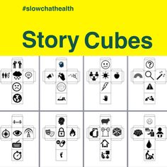 If you liked my Question Matrix blog post (the most popular blog post I've written) then you'll appreciate this one too! Inspired by Rory's Story Cubes and a desire to check for student… Cube Image, Story Cubes, Health Teacher, Summer Reading Program, Student Success, S Stories, Embedded Image Permalink, Storytelling, Teaching