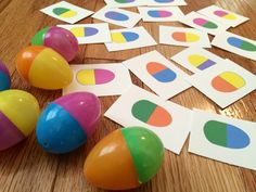 EASTER egg color matching game Busy Bag by KeepingMyKiddoBusy April Preschool, Preschool Colors, Toddler Preschool, Toddler Crafts, Preschool Activities, Crafts For Kids, Toddler Busy Bags, Toddler Learning Activities, Spring Activities