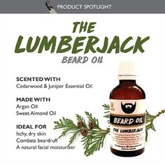 It's time to bring your Muzzle-Lashings under control with the help of a superior beard oil that will soften and condition. Make your Suburbs of the Chin. Juniper Essential Oil, Best Essential Oils, Lumberjack Beard, Beard Look, Natural Moisturizer, Split Ends, Sweet Almond Oil, Winter Months, High Gloss