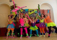 Eighties Themed Party 80s Theme Party Outfits, 80s Party Costumes, 80s Costume, Themed Outfits, Party Themes, Retro Party, Neon Party, Eighties Party, 80s Party Decorations