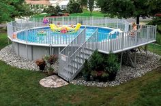Top 65 Diy Above Ground Pool Ideas On A Budget