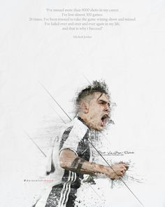 "Paulo ""La Joya"" Dybala  #Artwork #Design #Sketch #Quote #JuveArt #Juventus #PauloDybala #Dybala"