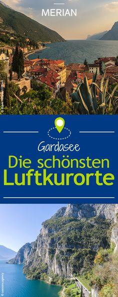 Wir zeigen euch die zwei beliebtesten Luftkurorten Riva und Arco am Gardasee.