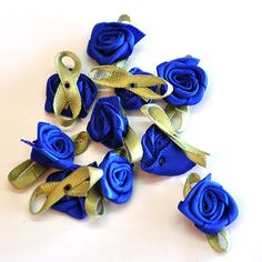 14mm Satin roses for R40/100 rose per pack.  This product comes in various colours as well | Paradise Creative Crafts cc