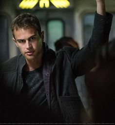 Divergent Theo James....number 1 reason to see the movie :)