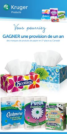 Win a 1 Year Supply of Tissue Products Thing 1, Canada, Site Web, Scottie, Best Brand, Coupons, 1 Year, Healthy, Free