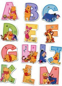Popular winnie the pooh alphabet