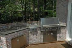 """""""Chris and Stephanie's outdoor kitchen idea"""" .... this HAS to be a sign!"""