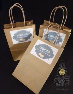 Paper Shopping Bag, Biscuits, Cookies, Cake, Design, Decor, Pie Cake, Decoration, Decorating