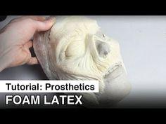 How to make Foam Latex Prosthetics Prosthetic Makeup, Sfx Makeup, Zombie Makeup, Scary Makeup, Lightning Cosplay, Mardi Gras, How To Make Foam, Halloween Makeup, Halloween Zombie