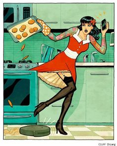 Mad Housewife by Cliff Chiang