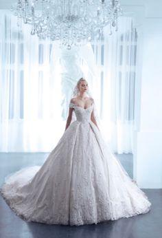 Nicolas Jebran 2015 Sping Summer Couture——水晶宫殿里的盛装