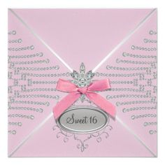 ==>>Big Save on          Diamond Bow Pink Sweet Sixteen Birthday Party Announcements           Diamond Bow Pink Sweet Sixteen Birthday Party Announcements We have the best promotion for you and if you are interested in the related item or need more information reviews from the x customer who a...Cleck Hot Deals >>> http://www.zazzle.com/diamond_bow_pink_sweet_sixteen_birthday_party_invitation-161799477833815907?rf=238627982471231924&zbar=1&tc=terrest