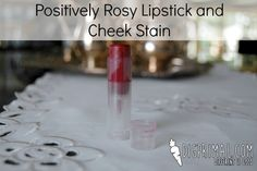 Positively Rosy Lipstick and Cheek Stain //digprimal.com