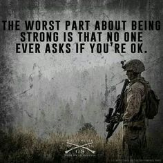 PTSD Awareness. We all need to be their for our brothers and sisters.