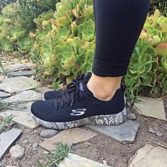 Comfortable, light and flexible. A few of our favorite things about this new Skechers Burst style. http://spr.ly/6003BqSUf