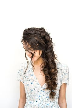dutch fishtail braid. I would love to casually wear this hairstyle! Growing out the hair for the win!