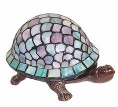 Tiffany Style Turtle Accent Lamp by Warehouse of Tiffany (TN07B113), Tiffany Style Lighting, Tiffany Lamps